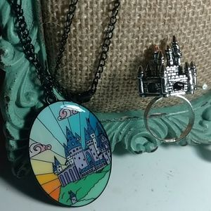 Castle Jewelry- Necklace and Ring